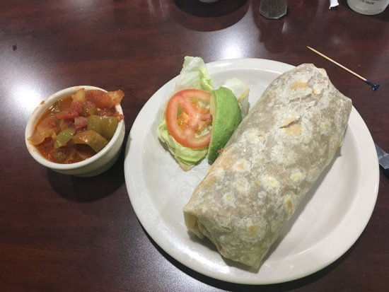 National City, CA: Chorizo Burrito