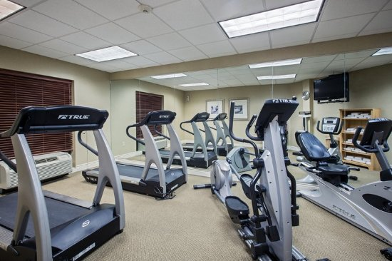 Flowood, MS: Workout in our well-equipped Fitness Center