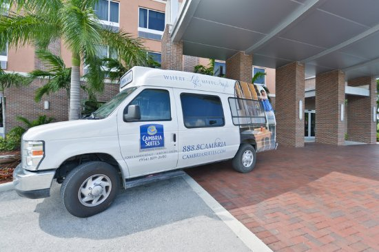 Cambria Hotel & Suites Fort Lauderdale, Airport South & Cruise Port: Hotel shuttle