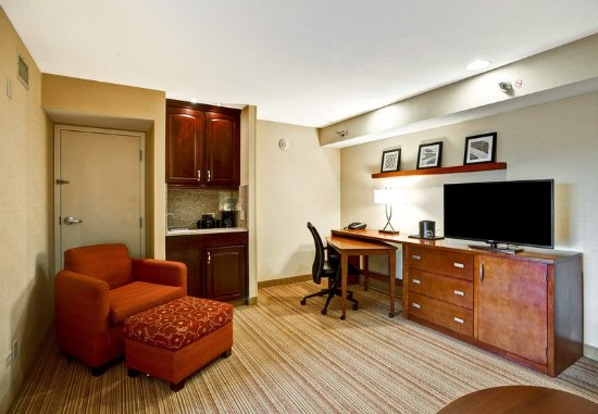 Elmhurst, IL: Executive King Suite - Living Area