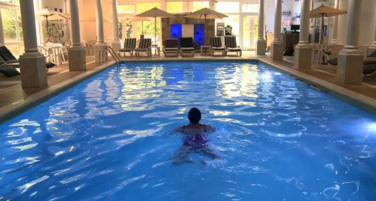 Redruth, UK : Swimming pool