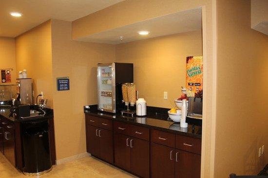 Ambridge, Pensilvania: Breakfast Area