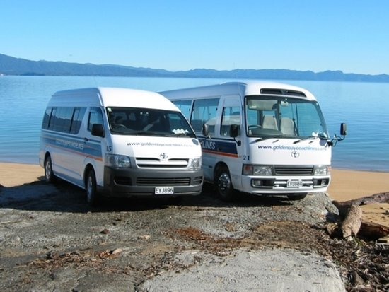 Takaka, New Zealand: Golden Bay Coachlines