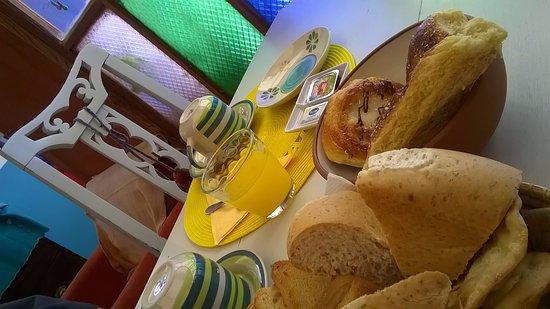 La Quiaca, Argentina: Desayuno, muy bueno.