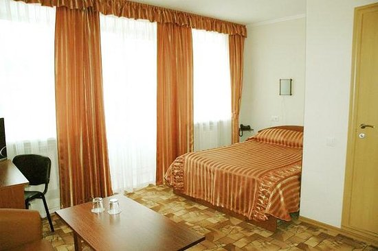 Sredneuralsk, Rusia: Standard Room Double plus with balcony