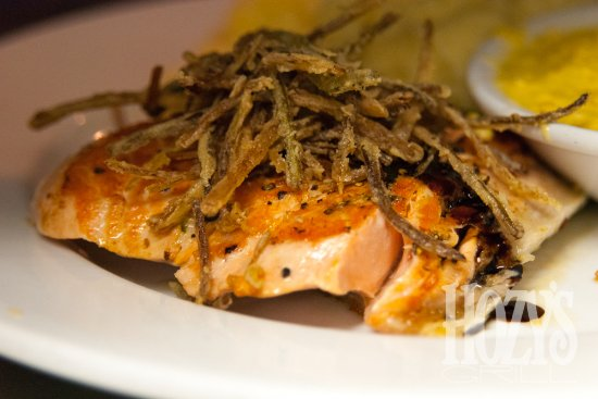 Santa Paula, CA: Salmon is one of the seafood specials that we rotate on our House Specialties