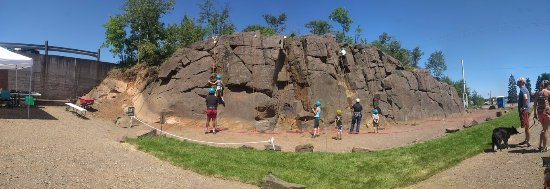 Silver Bay, MN: What a great place to learn some climbing skills!