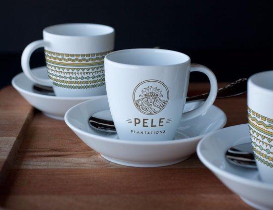 Honaunau, Гавайи: Enjoy freshly roasted coffee on your Pele Plantations tour