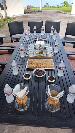 Honaunau, HI: Enjoy a coffee tasting at Pele Plantations