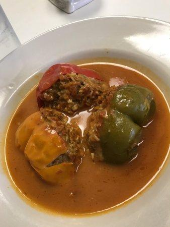 Hermitage, TN: Stuffed peppers