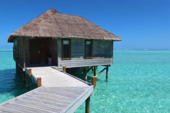 Deluxe Water Villa 346 Picture Of Conrad Maldives Rangali