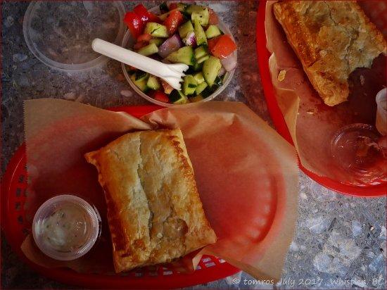Ingrid's Village Cafe: Light lunch at Ingrid's, Whistler