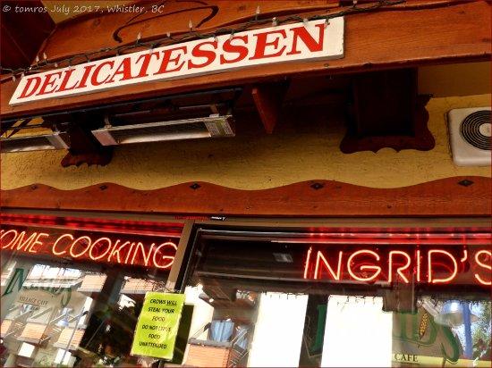 Ingrid's Village Cafe: Ingrid's Home Cooking, Whistler