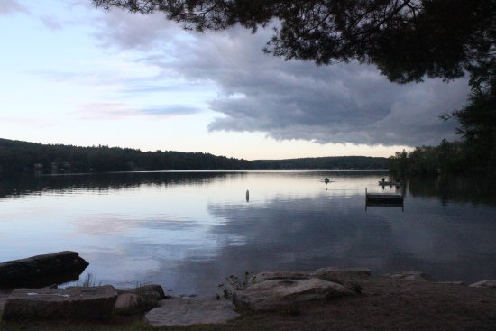 Sutton, MA: The beach at Old Holbrook Place Camping and Day Picnic Grounds