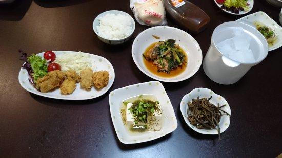 Haboro-cho, Japón: 旬の幸がふんだんに使われた料理