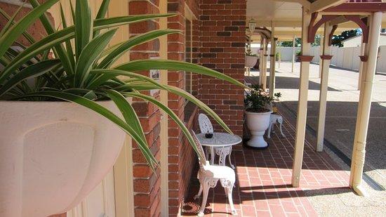 Dalby, Australien: Exterior Seating