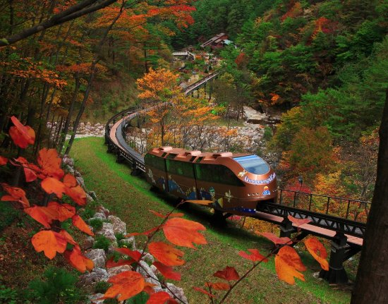 Gangwon-do, Corée du Sud : Daegeum Cave in Autumn season, Samcheok