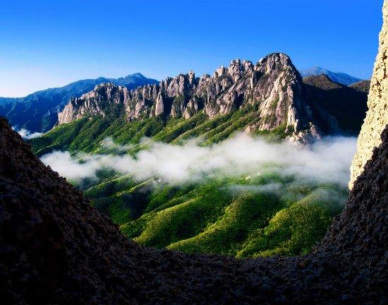 Gangwon-do, Corée du Sud :  Mountain Seorak, Sokcho