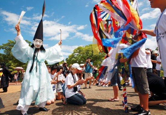 Gangwon-do, Corée du Sud : Danoje Festival, Gangneung
