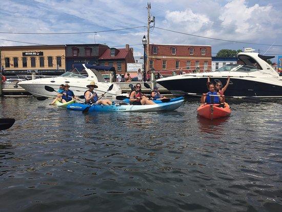 Kayak Annapolis LLC: Making a U-turn