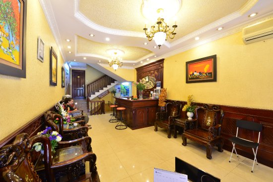 Little Hanoi Diamond Hotel: Reception