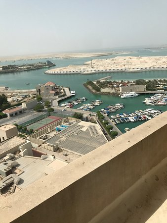 InterContinental Abu Dhabi: View from windows