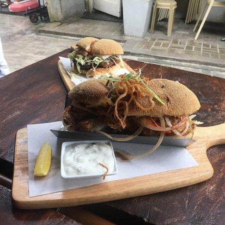 Amazing fish sandwich!