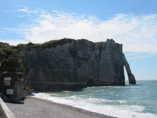 Fecamp, França: Cliffs