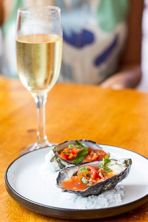 Peregian Beach, أستراليا: Fresh Australian oysters