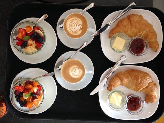 Diessen, Германия: Frühstück