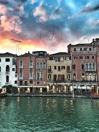 Hotel Canal Grande View Of Grand Canal In Venice Italy