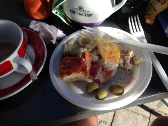 Ispra, إيطاليا: Selection from apperitivo buffet