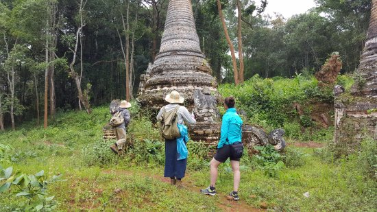 Kalaw, Μιανμάρ: Amazing ancient pagodas