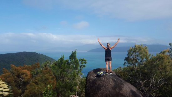 Fitzroy Island, Australia: Top of the world - one of the walks