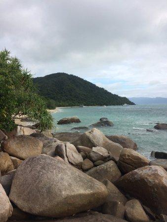 Fitzroy Island, Australia: Looking towards the resort