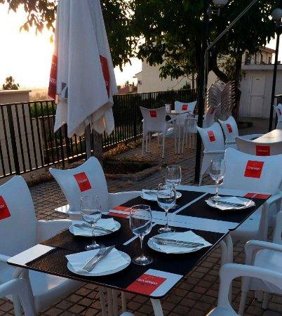 Huetor Vega, Spain: Noche en la terraza