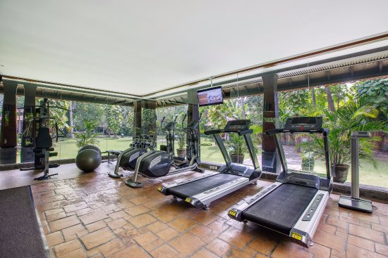 Gym room free for guest in house picture of rama candidasa