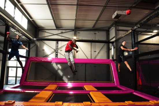 Villeurbanne, Fransa: Terrain de Dodgeball