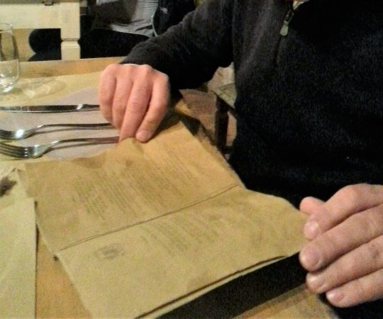 Le Mandrie di San Paolo : Il menù