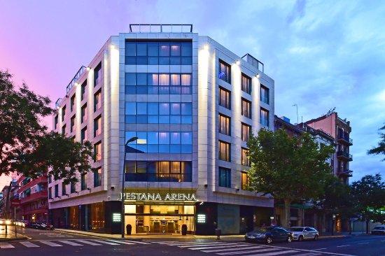 Sala Fumatori Aeroporto Barcellona : Pestana arena barcelona hotel barcellona spagna prezzi e