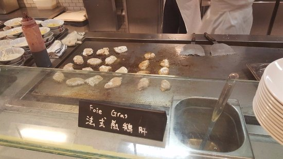 The Market: Foie Gras taste good though.