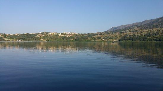 Κουρνάς, Ελλάδα: Aussicht vom See