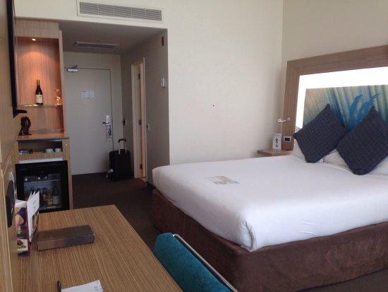 novotel hamilton tainui belle chambre avec salle de bain trs propre et fonctionnelle possibilit