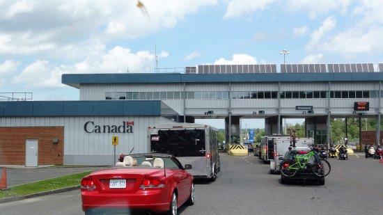 Brossard, Canada: Grens USA/Canada