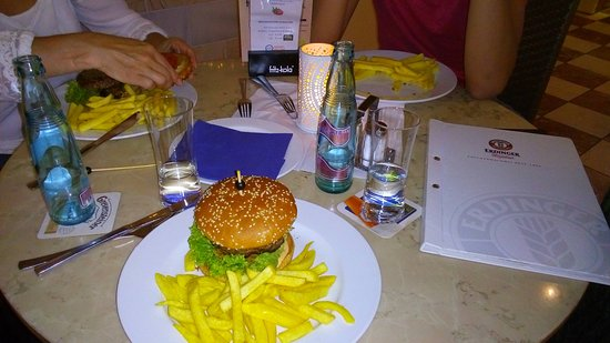 Bad Karlshafen, เยอรมนี: Weser Therme restaurant