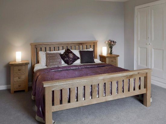 Lanivet, UK: Old Farmhouse Master Bedroom