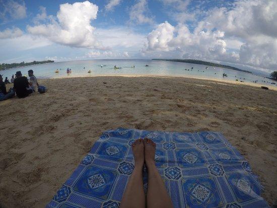 Tanjung Batu Beach: Pantai Pasir Panjang