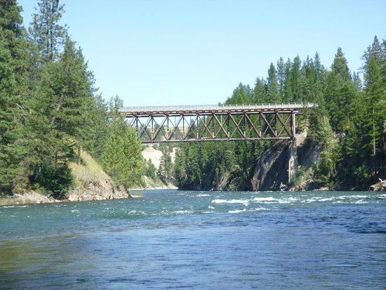 Cranbrook, Kanada: St Mary's river (rafting location)