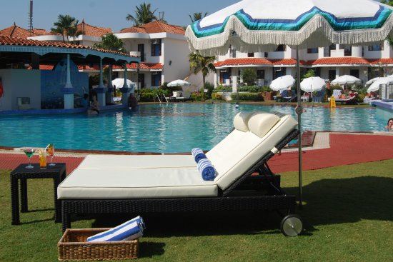 Cansaulim, Indien: Resort pool view