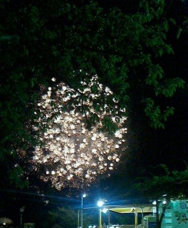 Kanzanji Onsen Lantern Fireworks